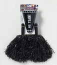 Forum Novelties Cheerleader Pom Pom & Megaphone Costume Accessory Set: Black One Size