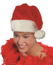 Forum Novelties Deluxe Santa Hat Christmas Costume Accessory One Size Fits Most