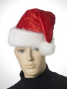 Forum Novelties Velour Santa Hat Christmas Costume Accessory One Size Fits Most
