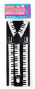 Forum Novelties 80's Style Keyboard Costume Suspenders Adult One Size
