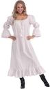 Forum Novelties White Medieval Chemise Costume Undergarment Adult Plus Plus Size