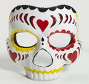 Forum Novelties Day of the Dead Female Costume Mask Adult One Size