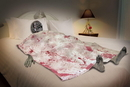Forum Novelties Bloody Death Bed Zombie Halloween Party Decoration One Size