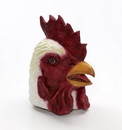 Forum Novelties Latex Animal Costume Mask Adult: Rooster One Size