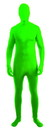 Forum Novelties Disappearing Man Neon Green Body Suit Adult Costume X-Large