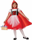 Forum Novelties Red Riding Hood Dress With Cape Costume Child