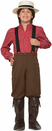 Forum Novelties FRM-76231S Pioneer Boy Costume Child