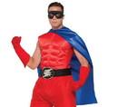 Superhero Blue Costume Cape Adult