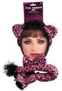Forum Novelties FRM-77632-C Pink Leopard Costume Kit