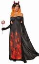 Forum Novelties Demons & Devils Elegant Women's Costume Dress, Size (6-14)