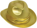 Forum Novelties Gold Lame Fedora Adult Costume Hat, One Size