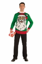 Forum Novelties Big Santa Ugly Christmas Sweater Adult