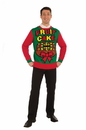 Forum Novelties Fruit Cake Ugly Christmas Sweater Adult