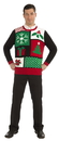 Forum Novelties Jolly Holiday Ugly Christmas Sweater Adult