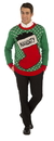 Forum Novelties Naughty Stocking Ugly Christmas Sweater Adult