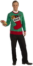 Forum Novelties Nice Stocking Ugly Christmas Sweater Adult