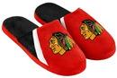 Forever Collectibles Chicago Blackhawks NHL Swoop Logo Slide Slippers