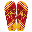 Forever Collectibles Iowa State Cyclones Unisex Big Logo Flip Flops