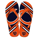 Forever Collectibles Chicago Bears NFL Unisex Big Logo Flip Flops