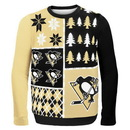 Forever Collectibles Pittsburgh Penguins NHL Busy Block Ugly Sweater
