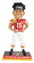 Forever Collectibles Kansas City Chiefs Patrick Mahomes #15 2018 MVP Award NFL Resin Bobblehead