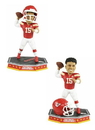 Forever Collectibles Kansas City Chiefs Patrick Mahomes #15 NFL Removable Helmet Bobblehead