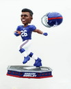 Forever Collectibles New York Giants Saquon Barkley #26 Removable Helmet Base NFL Resin Bobblehead