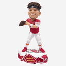 Forever Collectibles Kansas City Chiefs Patrick Mahomes #15 Drum Base NFL Resin Bobblehead