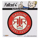 Fanwraps FWP-FWFO-3022-C Fallout 4 Red Rocket Diesel Decal