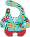 Gamago GMG-SF1743-C GAMAGO Hawaiian Shirt Terrycloth Baby Bib