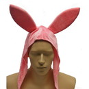 Pink Bunny Costume Hat