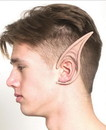 Cosplay Flexi Ears Costume Accessory Long Demon Flesh