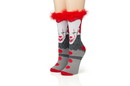 Hypnotic Socks HYP-TK465-C IT Pennywise Athletic Crew Socks - Tube Socks for Adults with 3D Print - 1 Pair