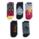 Hypnotic Socks Harry Potter Color Adult Ankle Socks - 5-Pack