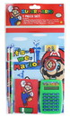 Innovative Designs IAD-4325-C Nintendo Super Mario 7 Piece Stationery Set w/ Calculator