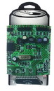 ICUP, Inc. Designer Can Cooler: Circuit Board Pattern
