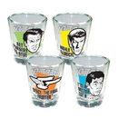 ICUP, Inc. Star Trek Quotes Shot Glass 4-Pack