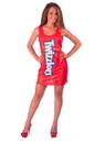 InCogneato Twizzlers Costume Adult Tank Dress Standard One Size Fits Most