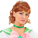 InCogneato Sailor Moon Jupiter Costume Wig One Size