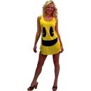 InCogneato ICN-60027-C Pac-Man Deluxe Costume Tank Costume Dress Adult/Teen Standard