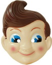 "InCogneato ICN-63013-C Big Boy Plastic Adult Costume Mask 18"""