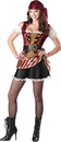Incharacter Pirate Babe Teen Costume