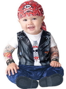 Incharacter Born To Be Wild Biker Costume Child Infant 12-18 Months