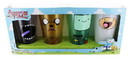 Just Funky Adventure Time Faces 16oz Pint Glass 4-Pack