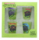 Just Funky Teenage Mutant Ninja Turtles Faces Shot Glass Set of 4