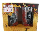 Just Funky Walking Dead 16 oz. Pint Glass 2-Pack: Bloody Rick and Daryl
