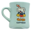 Just Funky Cuphead and Mugman 16oz Ceramic Diner Mug