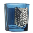 Just Funky Attack on Titan Chibi Survey Corps 1.5oz Green Square Shot Glass