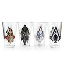 Just Funky Assassin's Creed Syndicate 16oz Pint Glass 4-Pack