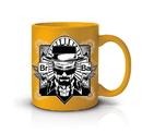 Just Funky JFL-BB-CMG-3900-C Breaking Bad Yellow Heisenberg 20oz Coffee Mug